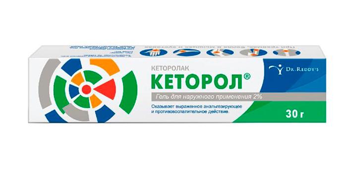 Кеторол для медикаментозного лечения тендинита плечевого сустава
