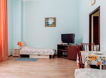 Комната жителей в пансионате для пожилых людей «Сердца поколений» в Малаховке