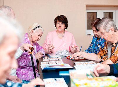 Досуг в пансионате для пожилых людей «Сердца поколений» Шатурский