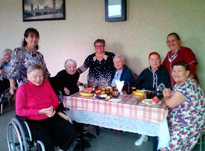 Досуг в пансионате для пожилых людей «Опека»