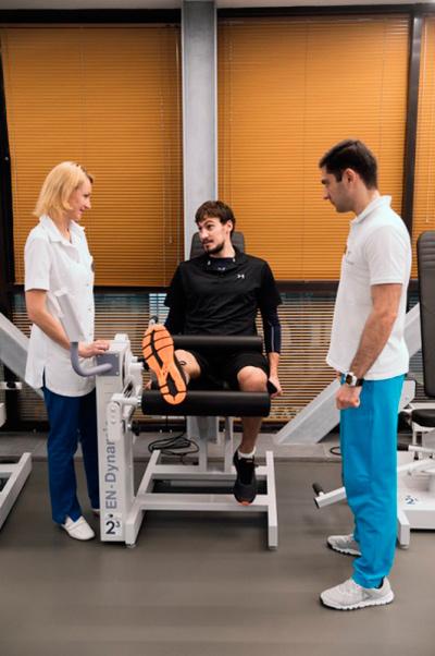 Занятия на выносливость на специальных тренажерах - для восстановления нормальной работы ахилла