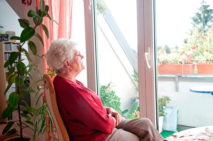 Отдых постояльцев в доме престарелых «Исток» (Краснодар)
