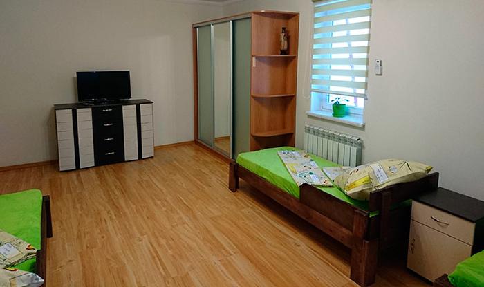 Комната постояльцев в доме престарелых «Life House» (Киев)