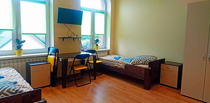 Комната постояльцев в пансионате для пожилых «Life House» (Киев)