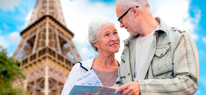 Пенсионеры во Франции