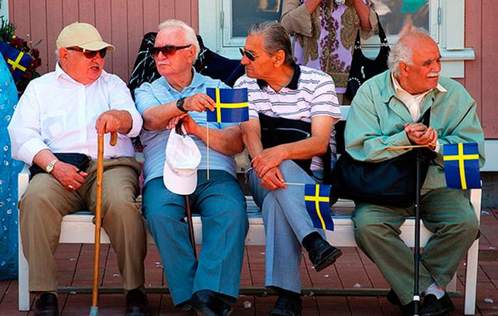 Шведские пенсионеры