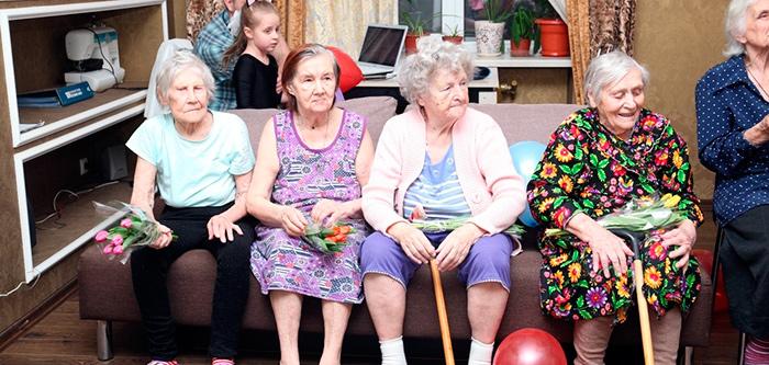 Жители пансионата «Золотые годы» (Краснодар)