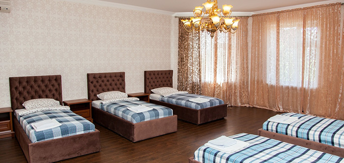 Комната постояльцев в пансионате «Золотые годы» (Краснодар)
