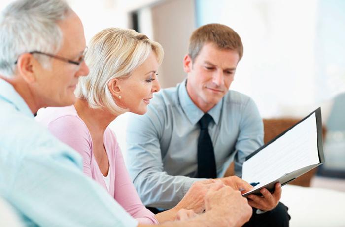 Консультация пенсионеров для оформления вклада в банк