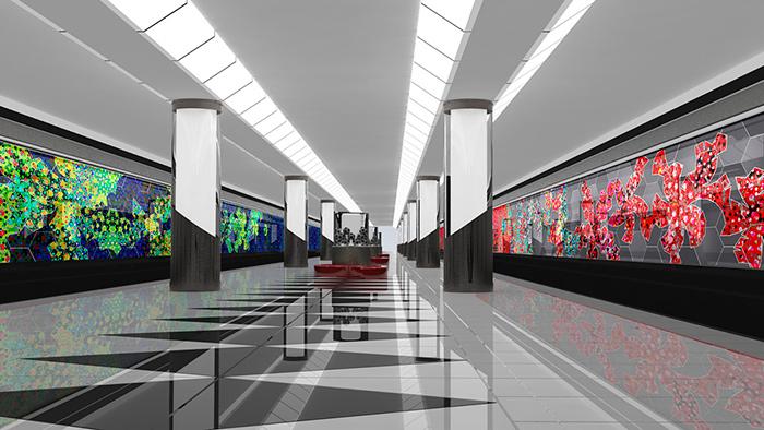 Станция Московского метрополитена