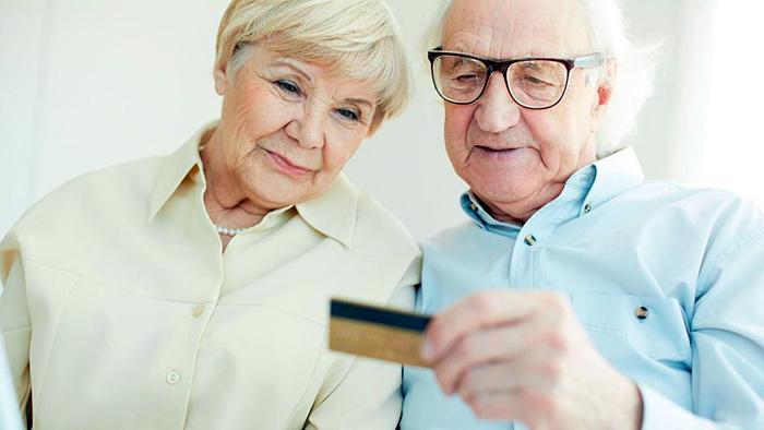 Получение пенсии на карту через банковский перевод