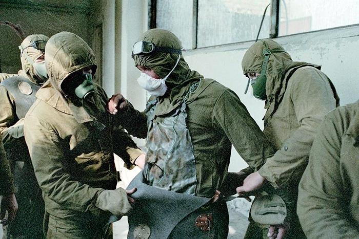 Ликвидаторы катастрофы на Чернобыльской АЭС