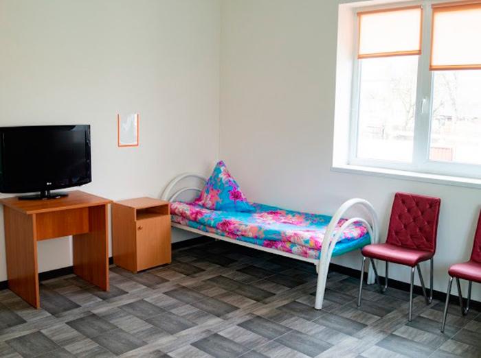 Комната постояльцев в пансионате для пожилых «Домашний уют» в Минске