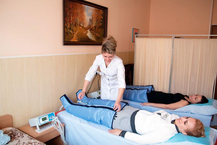 Лечение многодетной семьи в санатории