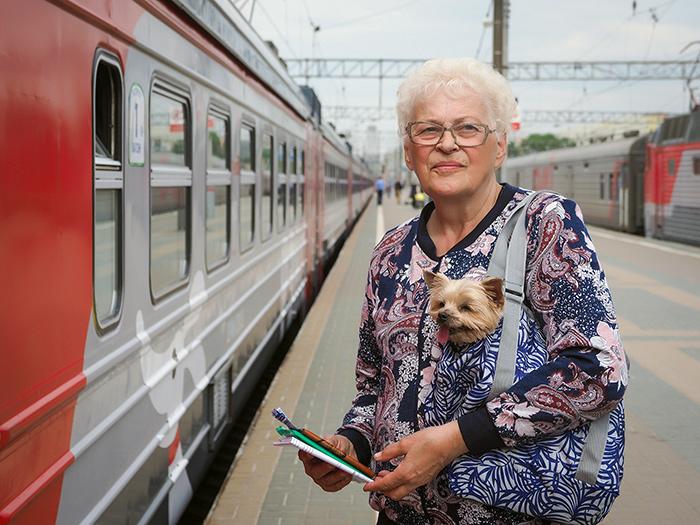 Пенсионеры имеют право на льготный проезд в поезде «Ласточка»