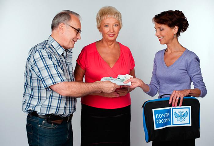 Доставка пенсионных выплат с помощью почты России