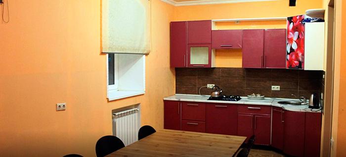 Кухня пансионата для пожилых людей «Родные люди»