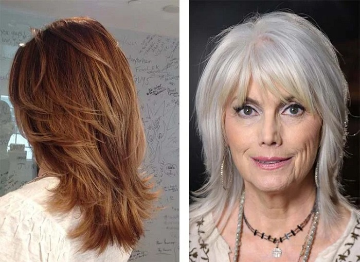 Стрижка рапсодия универсальна, так как подходит для разных типов волос