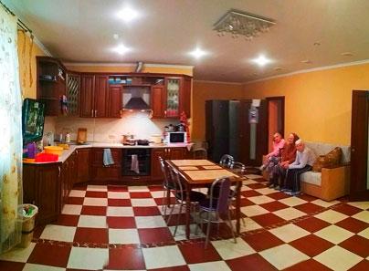 Кухня в частном пансионате для пожилых людей «Тепло любимых» Заболотье (Минская область)
