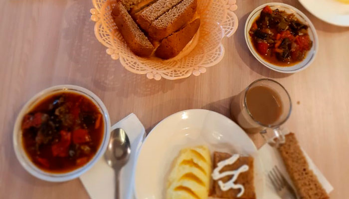 Питание в пансионе для пожилых «Родительский дом» (Ярославль)